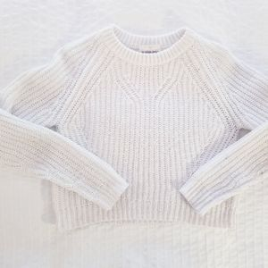 Sunday Best Aritzia | Nesbo White Knit Sweater